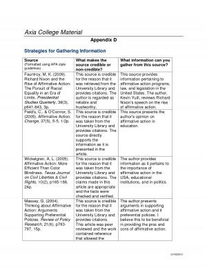 appendix in essay apa