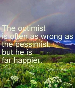 The optimist vs. the pessimistClouds, God, Quote, Rocky Mountain ...