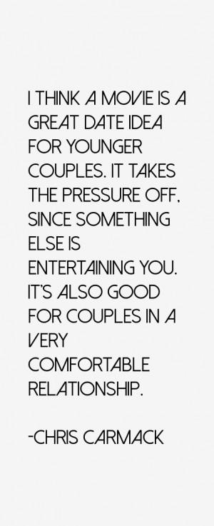 Chris Carmack Quotes amp Sayings