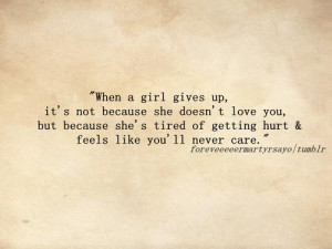 im tired of you not caring eny more natalya johnson quotes added by ...