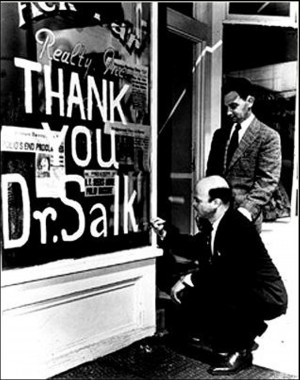 Jonas Salk Polio and Ebola Virus