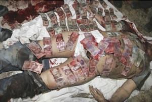 Arturo Beltrán Leyva resucita en sus fotos más sangrientas