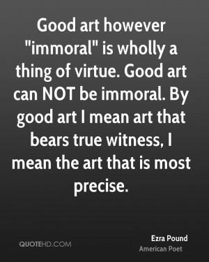 Ezra Pound Art Quotes