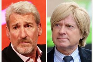 Jeremy Paxman and Michael Fabricant