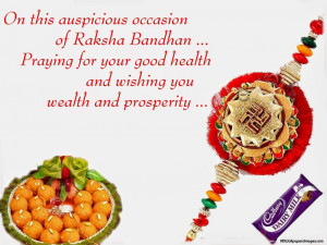 Praying for your good health and wishing you wealth and prosperity.