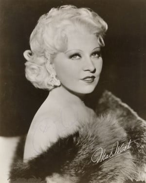 1930s Style Icon: Mae West