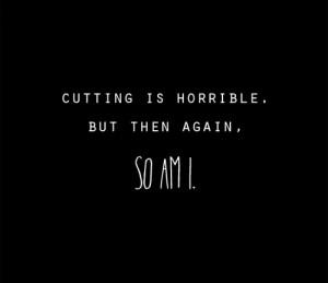 blood depression suicidal suicide self harm cutting cuts bleeding self ...