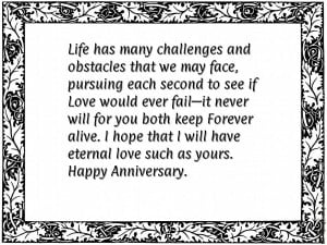 For many years, you both have always cherished one another with every ...
