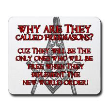 Anti-Masonic Mousepad for