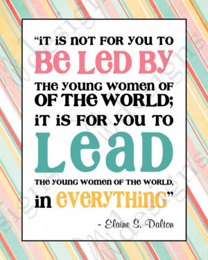 etsy.comLDS Young Women - LEAD in