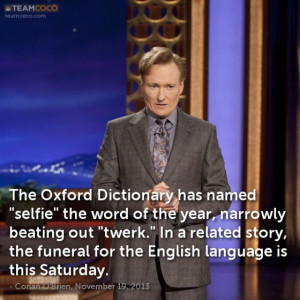 The Oxford Dictionary has named