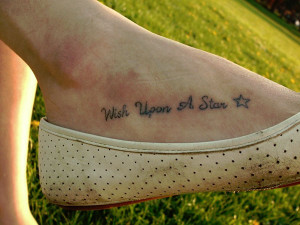 Anchor Tattoos With Sayings Foot tattoos quotes