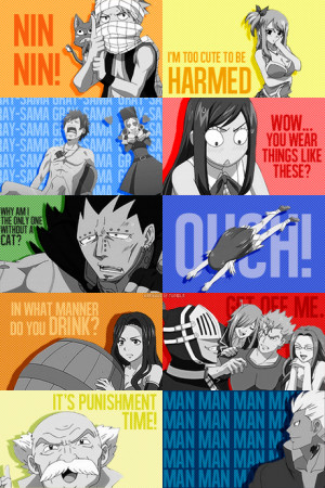 Inspirational Fairy Tail quotes