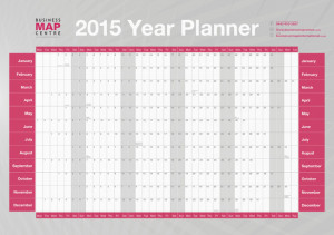 2014 yearly planner
