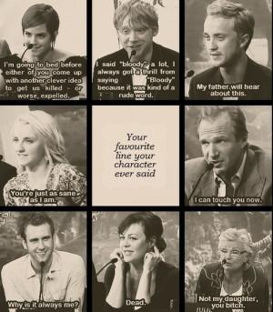 Harry Potter Cast Quotes