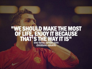 Christiano Ronaldo Motivational Quotes