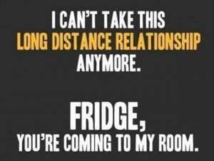 funny quotes, long distant relationships