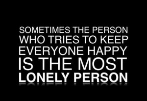 happyness, lonely, quotes