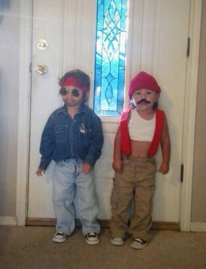 how to make cheech and chong costumes