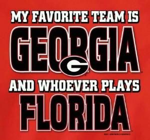 Georgia bulldogs!