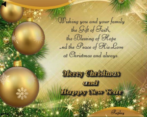 My Merry Christmas Wishes to all!