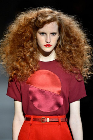 Big Hair New York Fashion Week