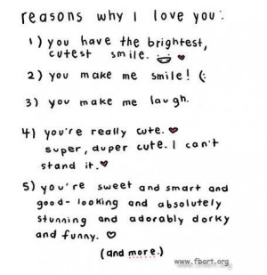 reasons why i love you # i love you because # i love you # love ...