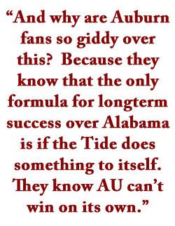 Quotes About Alabama Auburn Fans
