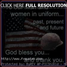To Our Men And Woman In Uniform Motivational Love Quotes