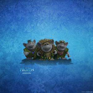 Trolls Frozen Wallpaper