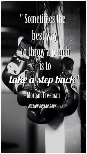 ... Quotes, Quotes Boxes, Morgan Freeman Quotes, Movie Quotes, Boxing