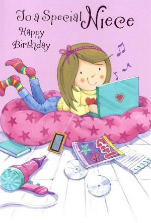 To A Special Niece Happy Birthday