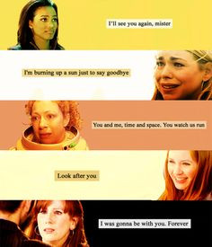 Sad Doctor Who Quotes Tumblr The sad goodbyes that the