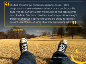 Emotional intelligence quote on compassion