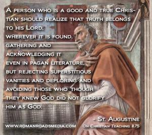 ... not glorify him as God.