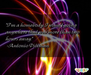 Homebody Quotes