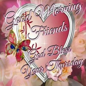 God bless... happy Thursday