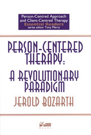 Person-Centered Therapy: A revolutionary paradigm