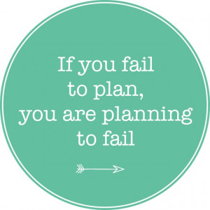 motivational monday plan ahead