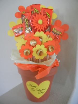 Teacher Valentine - Reese's Peanut Butter Cup bouquet