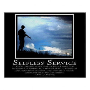Selfless Service Posters