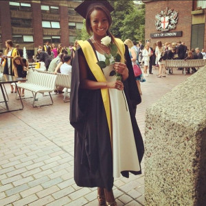 DJ Cuppy Graduates from King's College London with 2.1