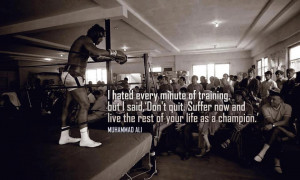 Motivational pic of the week #25: Muhammed Ali on training