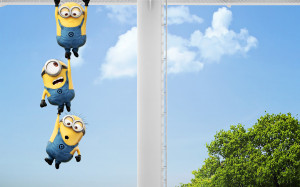 Despicable Me 2 Funny Minions HD Wallpaper #5784