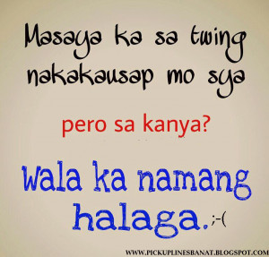 Pinoy Pickup Lines Banat Lines Cheesy Lines