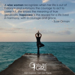 Suze Orman Work Life Balance Quotes