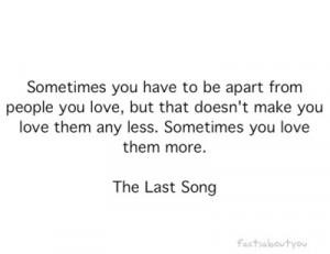 apart, emo, heart, love, quotes, sad, sometimes, word