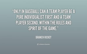 Team Player Quotes And Sayings