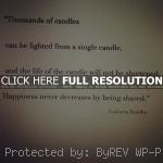 ... quote inspiring quotes, sayings, candles, life, happiness, buddha