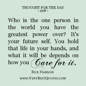 Quotes About Your Future ~ daily Quotes do something today that your ...
